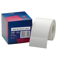 Label dispenser box 36x63mm Roll 500 Permanent Avery 937103