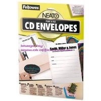 CD DVD Envelope kit Fellowes 99969 - pack 30