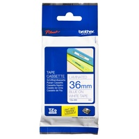 Brother TZe263 36mm X 8m Blue on White TZ-263 P-Touch - each