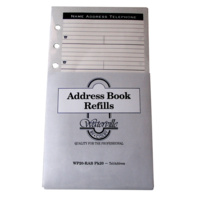 Telephone Address book Waterville Refills WP-20RAB fits WAB-30 WAB-35  172mm high x 95mm wide