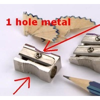 Pencil Sharpener Metal 1 hole Acco 975201 - box 48