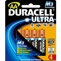 Batteries AA - 4 Duracell Ultra 40050434 - pack 4