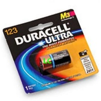 Batteries Duracell ULTRA 3V Lithium 123A - pack 1