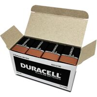 Batteries - 9 Volt Duracell Coppertop - pack 12