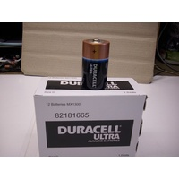 Battery Duracell Ultra D Bulk Box 12