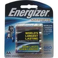 Batteries - AA - 4 Lithium Energizer - card 4