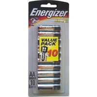 Batteries AA 10 Energizer Max - pack 10