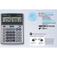 Calculator 12 Digit Canon BS1200TS  Dual Power Tax Business