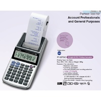 Calculator 12 digit Canon P1-DTS C Printing Portable  takes 57x57 paper if outside machine or 57x38mm if inside machine