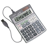 Calculator 12 Digit Canon LS120PC Notebook Compatible
