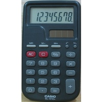 Calculator Casio SL510LA Electronic 8 Digit