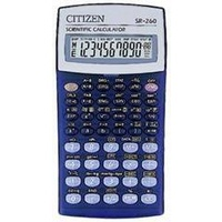 Calculator Citizen Scientific 10 digit SR260 - each