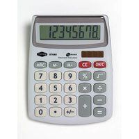 Calculator  8 digit Dual power Marbig 97640 - Semi Desktop