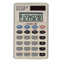 Calculator Citizen 8 Digit Pocket SLD839T