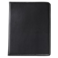 Notebook Cover A4 Faux Leather Black Jastek 0374370