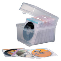 CD Sleeves Box Kensington With 50 Sleeves 62660 - each