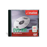 DVD-RW minus Imation rewritable 4.7gig 66000057274 - each