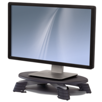 Monitor Riser Swivel LCD/TFT Fellowes 9145015 three fixed height positions 76mm-114mm