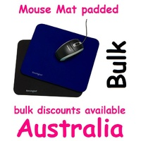 Mouse Pad mat standard office BLACK or Blue