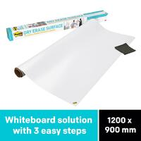3M Dry Erase Surface DEF4x3 1200x900 Post-It