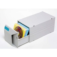 CD Drawer 20 + Lock Kensington 62680 - Each sleeve holds CD and Booklet or 2 CD's.