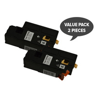2 x 1350 Black Generic Toner Cartridge