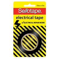 Electrical Tape Sellotape 19mm x 9M Blister Card 994003