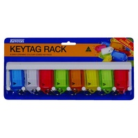 KeyTags Rack holds 8 Kevron ID5 ID6 - each