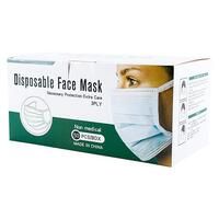 Disposable Non Medical Face Mask box 50 3 ply