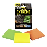 Post It Note  76x 76 3M ExtremeTray Of 6 Packs x 3 Pads 45 sheet pads