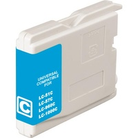 LC37 LC57 Cyan Compatible Inkjet Cartridge