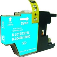 LC73XL Cyan Compatible Inkjet Cartridge  LC40 LC73 for Brother