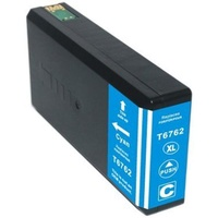 InkJet for Epson #676XL (T6762) Cyan Compatible Inkjet Cartridge