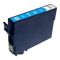 InkJet for Epson #702XL Cyan Premium Compatible Inkjet Cartridge