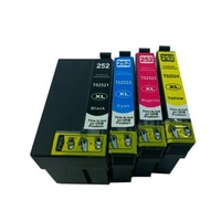 Epson #252XL Compatible Epson Inkjet 4 Cartridges Set Value Pack