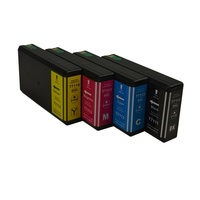 InkJet for Epson #711XXL Series Compatible Inkjet Cartridge Set