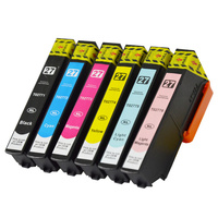 InkJet for Epson #277XL Compatible Inkjet Set 6 Cartridges