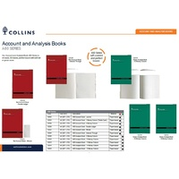 Account Book  A60 series A4 Choose option