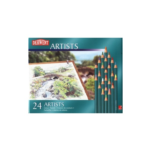 Derwent Coloured Pencils Artist [b] 24 R32083 - set 24