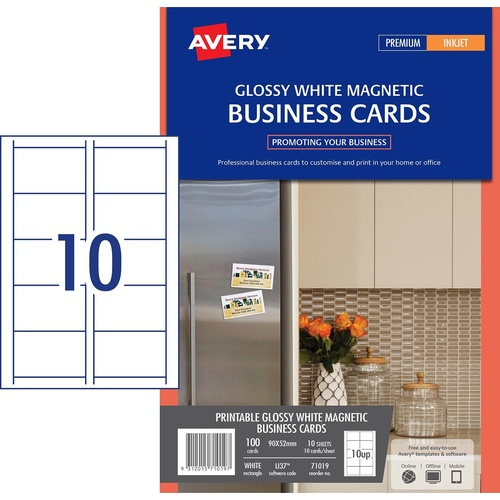 avery business cards 10 per sheet