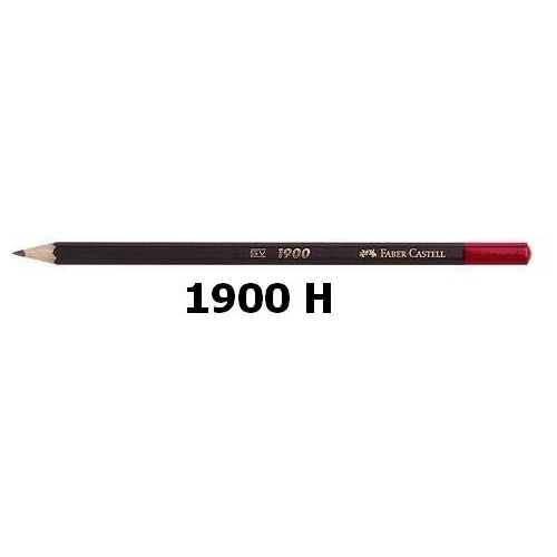 Pencil H Office and School 1900 series Faber 121900H - box 20
